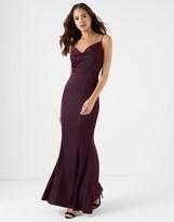 Lipsy Bridal Cowl Neck Satin Maxi Dress