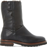 Dune Rayner shearling-lined leather boots