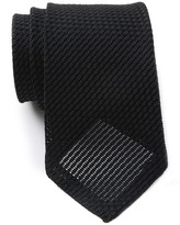 T.M.Lewin Silk Plain Grenadine Tie