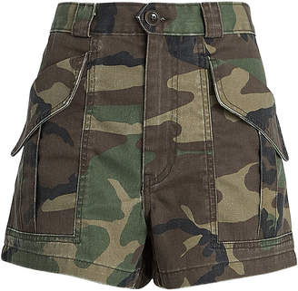 Trave Lucy Camouflage Cargo Shorts