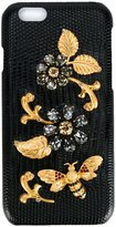 Dolce & Gabbana Crystal Embellished iPhone 6 Case - women - Calf Leather/Nylon/Plastic/Polyurethane - One Size