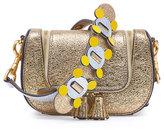 Anya Hindmarch Vere Mini Satchel Circulus Bag, Gold