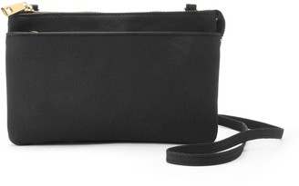 Apt. 9 Baxter RFID-Blocking Double Entry Crossbody Wallet