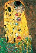Gustav 1art1 Posters Klimt Poster Art Print - The Kiss, 1908 (20 x 14 inches)