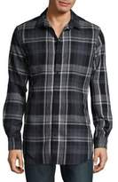 Calvin Klein Jeans Plaid Button-Down Shirt