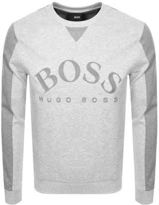 Boss Athleisure BOSS Athleisure Salbo Sweatshirt Grey