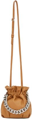 STAUD Tan Chain Grace Bag