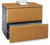 Bush Business Furniture Lateral Filing Cabinet in Cherry Colored - Series A