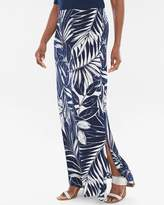 Chico's Blooming Palms Maxi Skirt