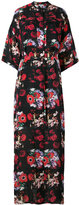 Kenzo floral print dress - women - Silk/Cotton - 38