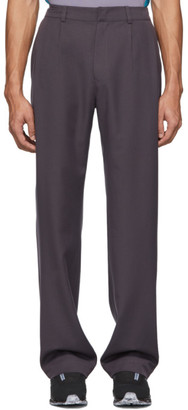 Keenkee Purple Relaxed Trousers