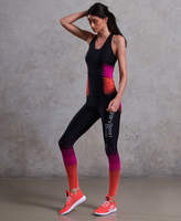 Superdry White Noise Bionic Compression Leggings