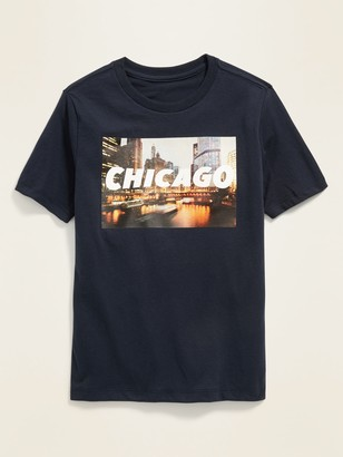 Old Navy Chicago Graphic Soft-Washed Tee for Boys