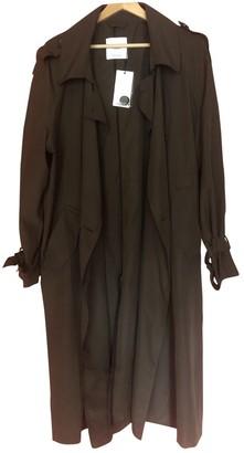 MANGO Khaki Trench Coat for Women