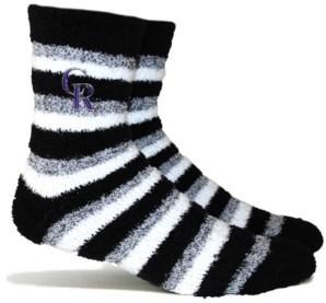 Stance Colorado Rockies Fuzzy Steps Socks