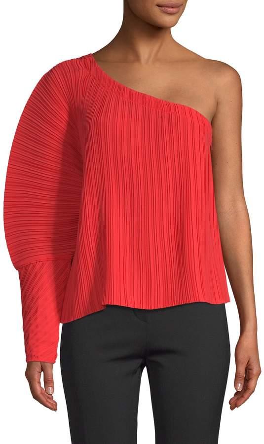 Alice McCall Women's Cherry Cola One-Shoulder Top