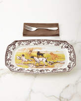 Spode Rectangular Hunting Dogs Platter