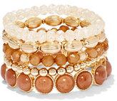 New York & Co. 5-Row Stretch Bracelet