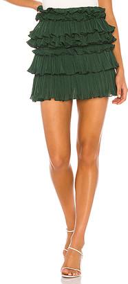 Lovers + Friends Ranger Mini Skirt