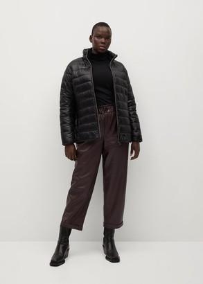 MANGO Pocket quilted jacket