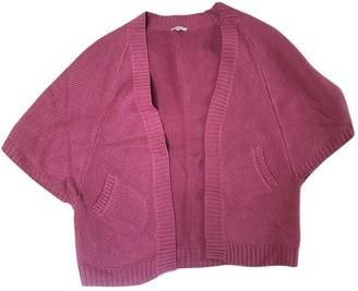 Sandro Pink Linen Knitwear for Women