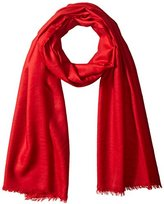 Phenix Cashmere Lightweight Wool Wrap, Red, One Size