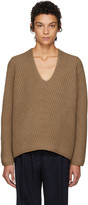 Acne Studios Brown Deborah Sweater