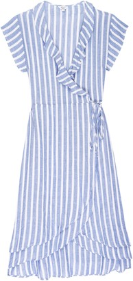 Rails Louisa Dress in Juneau Stripe - xs | cotton