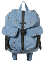 Herschel Blue Denim Mickey Mouse Backpack