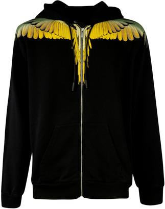 Marcelo Burlon County of Milan Wings Regular Zip Hoodie