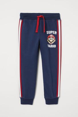 H&M Printed Sweatpants
