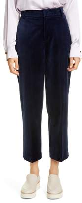 Vince Velvet Crop Trousers