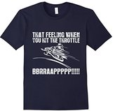 Lego Men's Snowmobile That Feeling When You Hit Throttle Braap T-Shirt 3XL