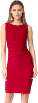 Norma Kamali Kamali Kulture Sleeveless Shirred Waist Dress