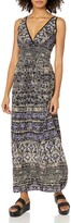 Thumbnail for your product : Angie Women's Blue Printed Maxi Dress Large