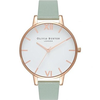 Olivia Burton Womens Analogue Japanese Quartz Watch with Leather Strap OB16BDW27