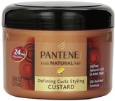 Pantene Truly Natural Hair Defining Curls Styling Custard 7.6 Fl Oz