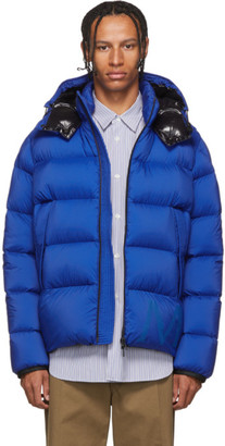 Moncler Blue Down Wilms Jacket