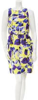 Milly Floral Peplum Dress