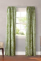 Laura Ashley Rowland Green Curtain - Set of 2