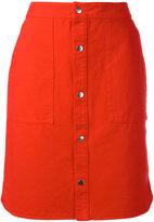 Vanessa Bruno buttoned skirt - women - Cotton - 40