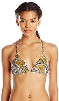 Volcom Women's Free Bird Triangle Bikini Top