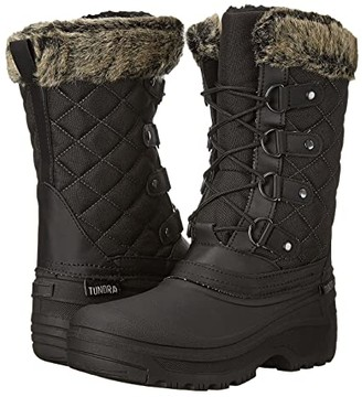 Tundra Boots Augusta (Black) Women's Work Boots