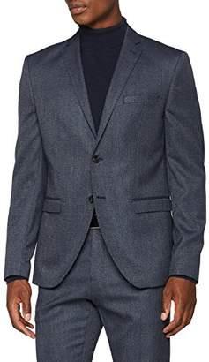 Selected Men's Slhslim-mylologan Navy Struc BLZ B Noos Blazer, Blue Dark, (Size: 94)