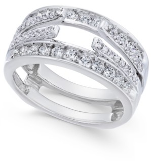 Macy's Diamond Enhancer Ring Guard (1 ct. t.w.) in 14k White Gold