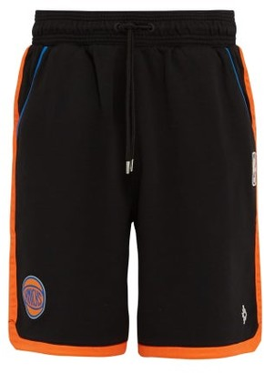 Marcelo Burlon County of Milan New York Knicks Basketball Shorts - Mens - Black Multi
