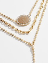 BaubleBar Musia Layered Y-Chain Necklace