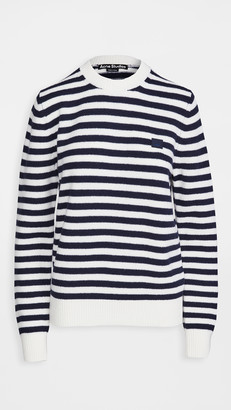 Acne Studios Kalon Stripe Face Knitwear