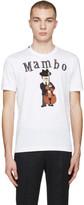 Dolce & Gabbana White 'Mambo' T-Shirt
