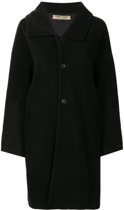 Comme Des Garçons Pre-Owned Single-Breasted Midi Coat